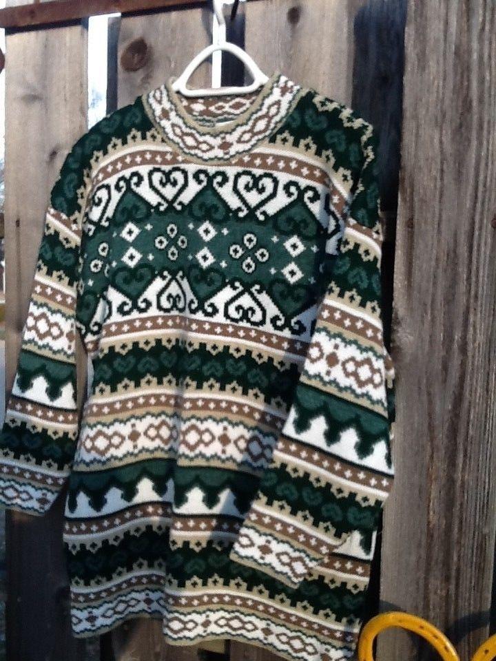 unisex ugly vintage christmas sweater crew neck size medium 34 sleeve in 2018 sweaters pinterest sweaters vintage christmas sweaters and christmas
