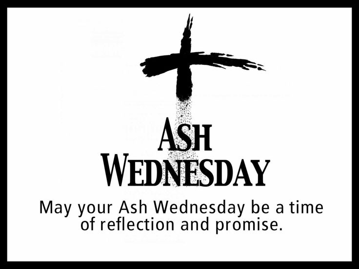 Ash Wednesday Wishes Image with Quote Saying