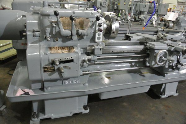 "Axelson 18"" x 102"" Heavy Duty Lathe 