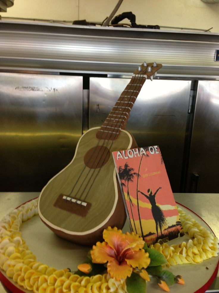 Ukulele Cake Wedding Cakes Pinterest Cakes And Ukulele