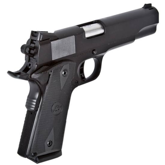 Rock Island Armory 1911 Tactical Full Size Semi Automatic Pistol .45 ACP 5 Barrel 8 Rounds Checkered Plastic Grips Duracoat Finish 51435