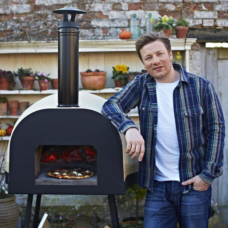 71 best images about smokers grills and outdoor ovens on for Jamie oliver style kitchen design