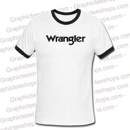 Wrangler ringer tshirt