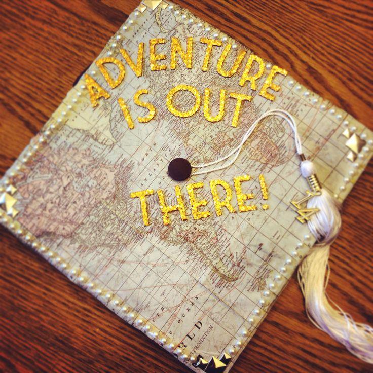 Graduation cap decorating idea!
