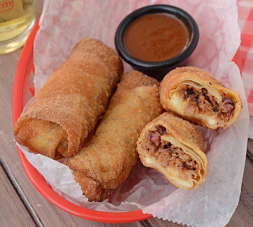 Redneck Eggrolls. Add coleslaw to make em just like Sonny's.