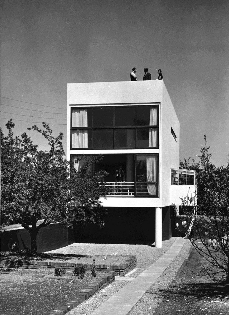 Kunstbib Dk International Style Architecture Architecture Art Deco Architecture Contemporary house style history