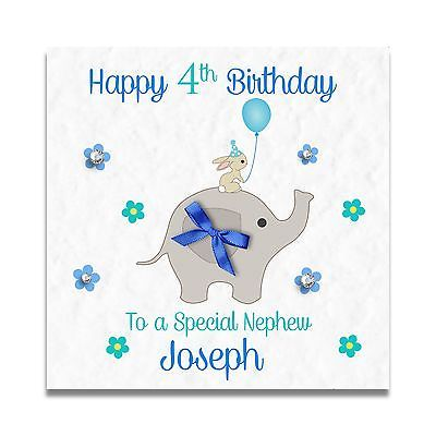 77 best handmade personalised cards images on pinterest handmade personalised boys 1st 2nd 3rd 4th 5th son grandson cousin birthday card m4hsunfo