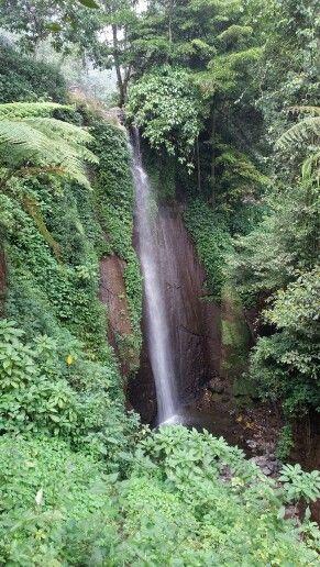 Waterfall at Curug Nangka