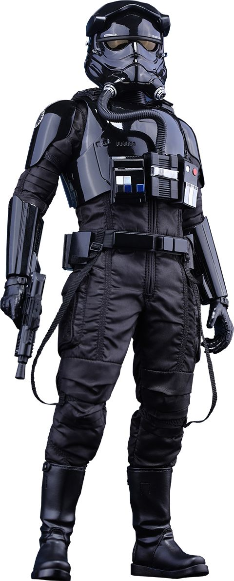Star Wars The Force Awakens - Hot Toys First Order TIE Pilot Sixth Scale Figure.