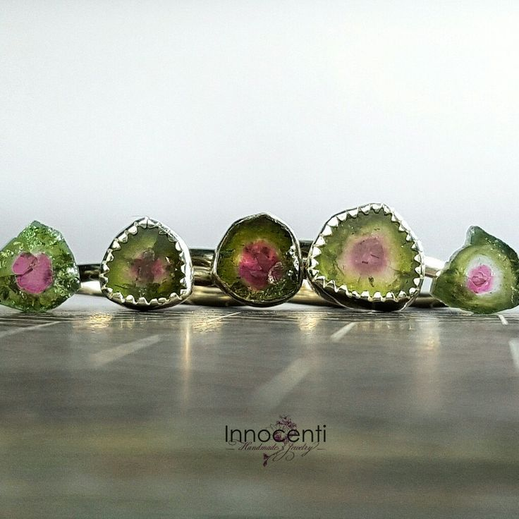 Watermelon tourmaline family is a new entry. You can customise by choosing your own watermelon tourmaline gemstone, that speaks to you!