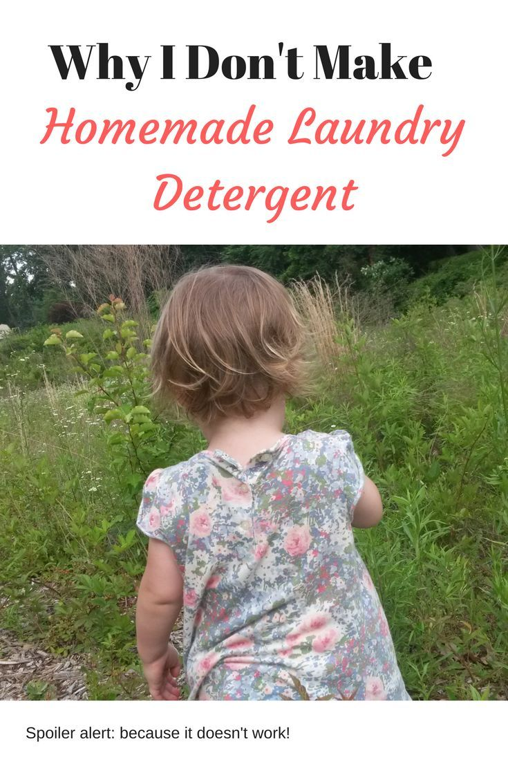 From a crunchy, frugal mama: why I don't make homemade laundry detergent