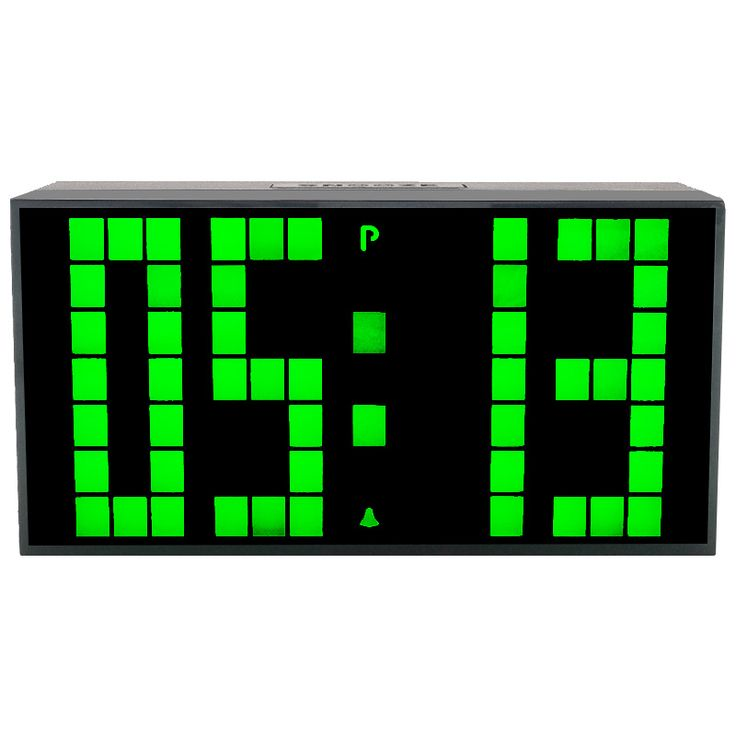 CH KOSDA Modern Calendar Thermometer Snooze Alarm Wall Clock Digital LED Table Clock Large Display Big Number Night Light Clocks