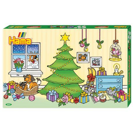 Witajcie,   Hama 3037 - Kalendarz Adwentowy Boże Narodzenie dla dzieci od 5 lat.   W zestawie aż 5000 koralików w rozmiarze midi, pięć podkładek, sześć podstawek, kolorowe projekty, papier do zaprasowywania i instrukcja obsługi.  Jest to duży zestaw na wiele godzin zabawy w świątecznym klimacie.  Uda wam się ułożyć i zaprasować do świąt?  http://www.niczchin.pl/koraliki-hama/3031-hama-3037-koraliki-midi-boze-narodzenie-kalendarz-adwentowy.html  #koralikihama #hamamidi