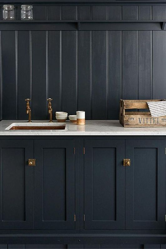 25 Best Ideas About Black Wainscoting On Pinterest