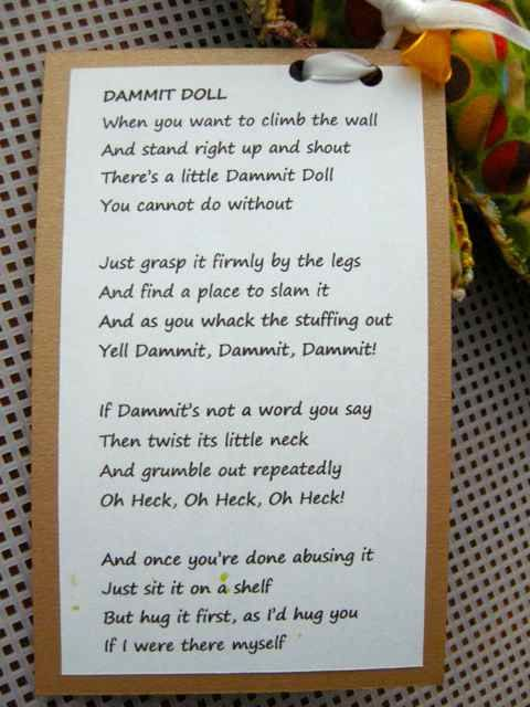 JoZart: Friday Smile - Dammit Doll | Knit, Crochet, and ...