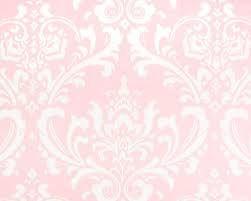 Pretty Pink Pastel Wallpaper For Little Girls Bedroom