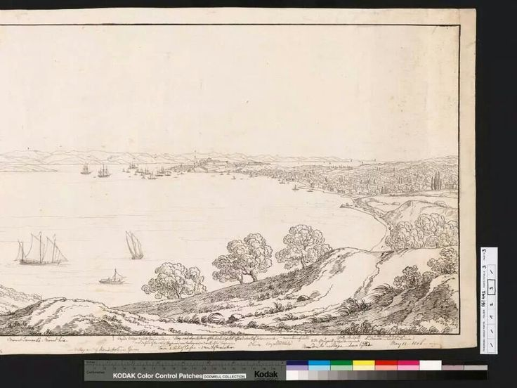 1806 view of corfu