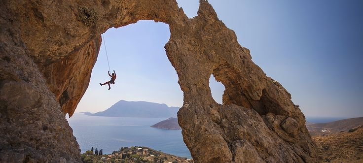 The amazing climbing festival of Kalimnos
