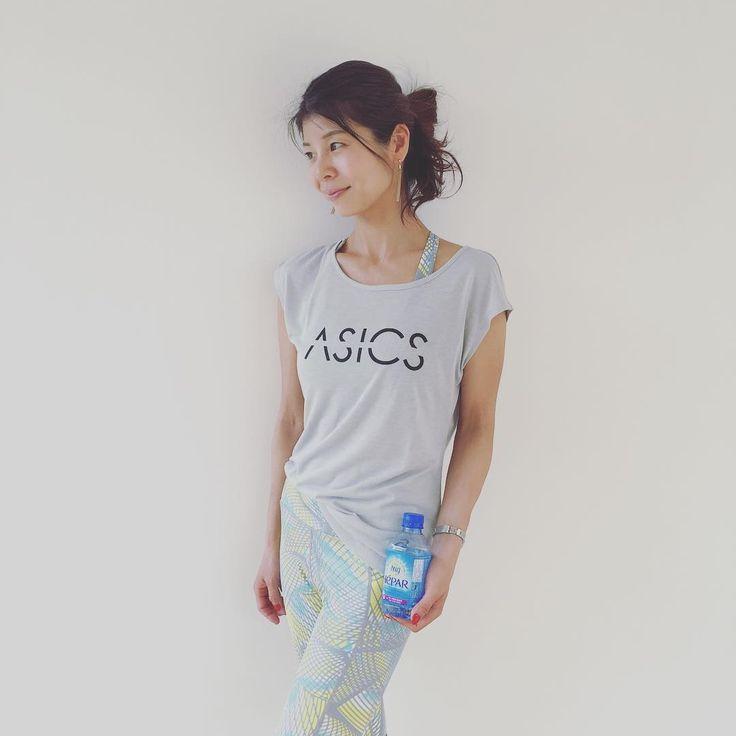 @hatsuyomori. asics .  #asicsconnecttokyo  #asics  #tokyo #yoga  #cafe  #隅田川  #浅草  #asakusa  #スカイツリー #hepar #毎週金曜日お待ちしてます☺︎ #髪ボサボサだけど 😂  #エパー #超硬水