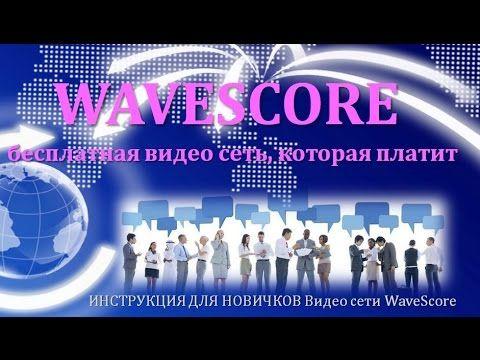 ИНСТРУКЦИЯ ДЛЯ НОВИЧКОВ Видео сети WaveScore