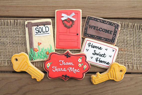 New Home Gifts / Gift for Real Estate Agent / by GuiltyConfections