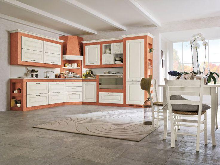 Cucina in muratura moderna n.08