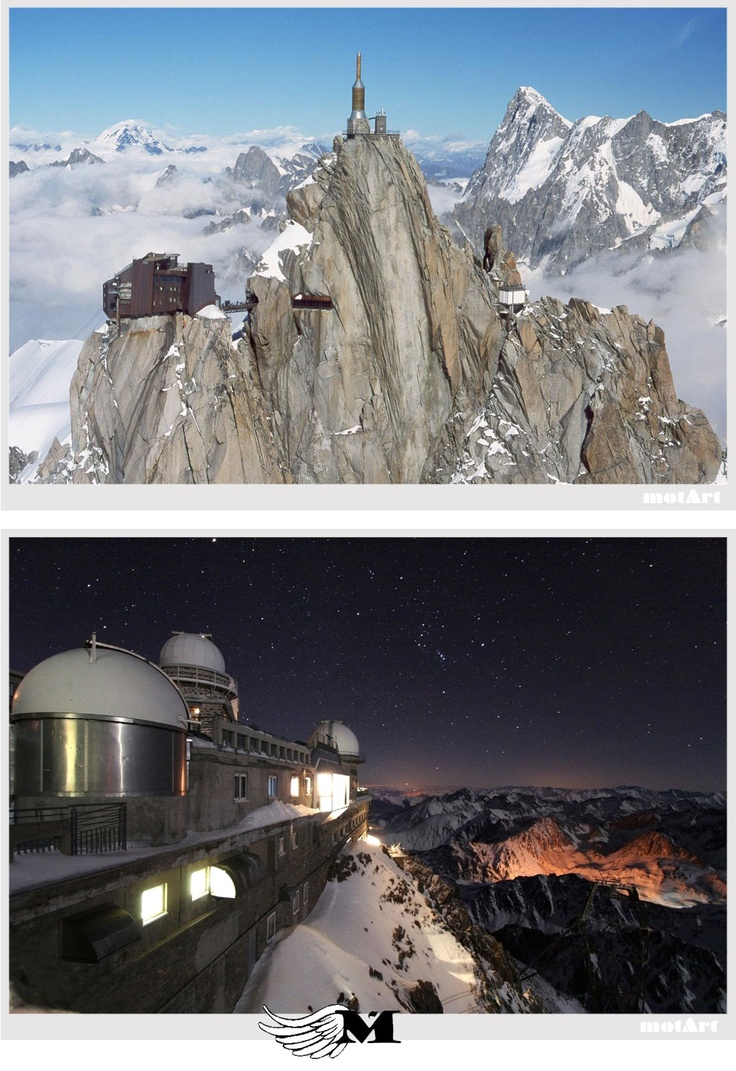 The Pic du Midi de Bigorre, French Pyrenees