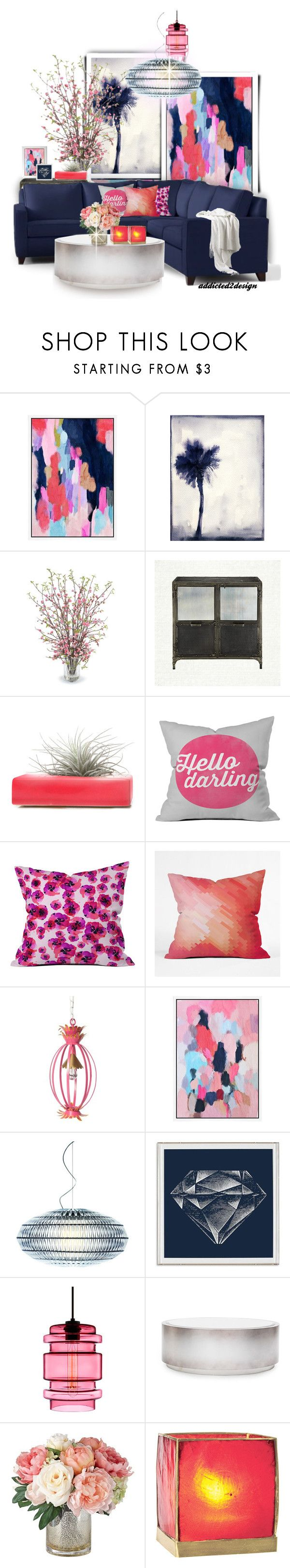 """""""Scandalous.. Thursday Night..Waiting for Scandal 2 Return"""" by addicted2design on Polyvore featuring interior, interiors, interior design, home, home decor, interior decorating, Universal Lighting and Decor, Leftbank Art, New Growth Designs and Dot & Bo"""