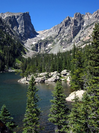Emerald Lake & Hallet Peak - Rocky Mountain National Park