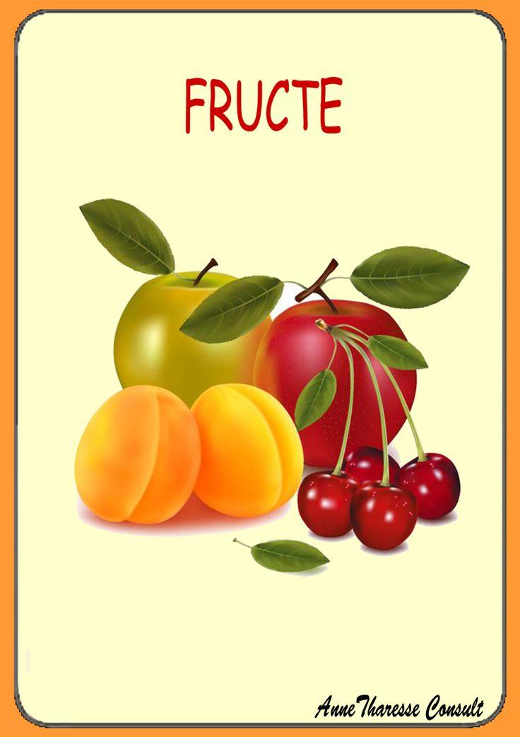 Cartonaşe - Fructe