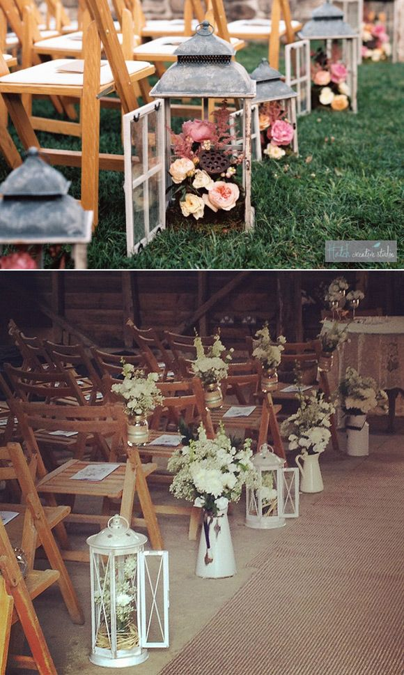 Cómo organizar tu boda: La Ceremonia. Ideas para decorar la ceremonia #bodas #decoracionbodas #weddingdecor