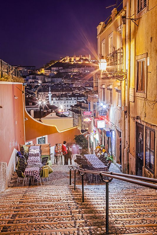 Lisbon night, Portugal