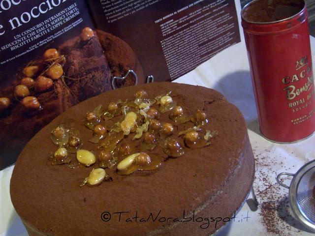 Torta morbida al gianduia con caramello di TataNora