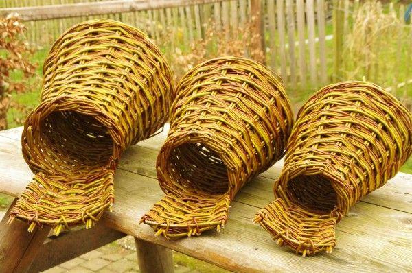 Duck hatching baskets by Mudz