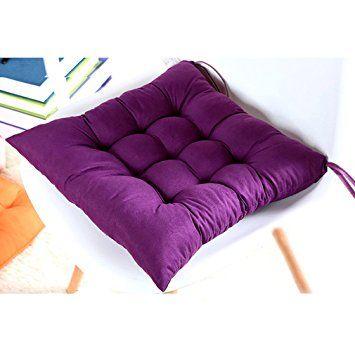 Amazon.co.jp: Auralum 椅子用 シートクッション 座布団 チェア ... Auralum 椅子用 シートクッション 座布団 チェアクッション ふわふわ 厚手 ホーム、オフィスでの最適