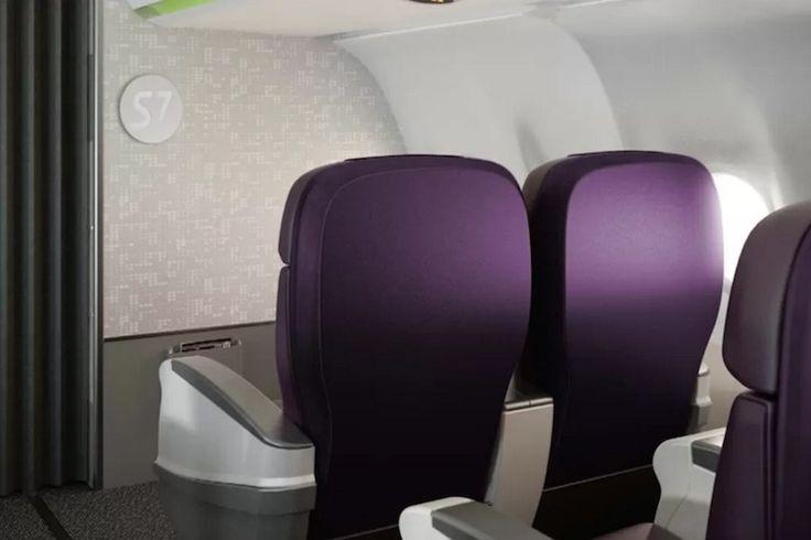 La classe Affaires du nouvel Airbus A320neo de S7 Airlines (Russie) a été conçue par le cabinet londonien PriestmanGoode