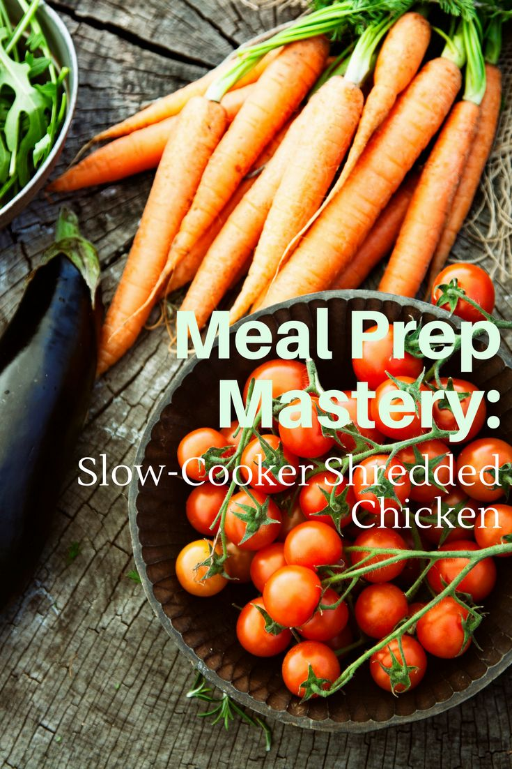 The word meal prep can sound like a daunting task, but i have developed a series of meal prep mastery posts that will show you how easy it is to set yourself up for the week with little time or money commitment. When we have good food in our fridge, we are less likely to go for prepackaged foods, which is good for your wallet and waistline. Today I show you easy slow-cooker shredded chicken.