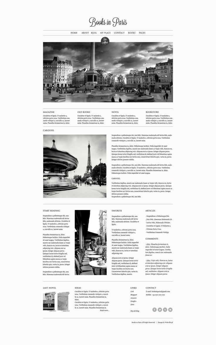 Web design - Books by webvilla.deviantart.com