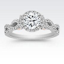 Swirl Engagement Rings   Shane Co.