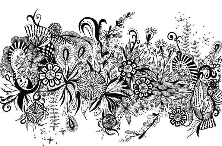 """bloom"" tangleThe Art, Zentangle Pictures, Pens Doodles, Art Drawing Ideas, Zentangle Art, Pens N Paper Delight, Amazing Tat, Yeah I Thoughts, Bloom Tangled"
