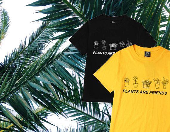 404ERROR-SHOP.COM plants are friends t-shirt #fashionfashiontumblr # #harajuku #plantsarefriends #yellow #tumblr #shopping #alternative #aesthetic #pastelgoth #art #plants #tshirt #tumblrstyle #streetwear #sadgirls #sadboys #yunglean #instagram #black #fashion #grunge #vintage