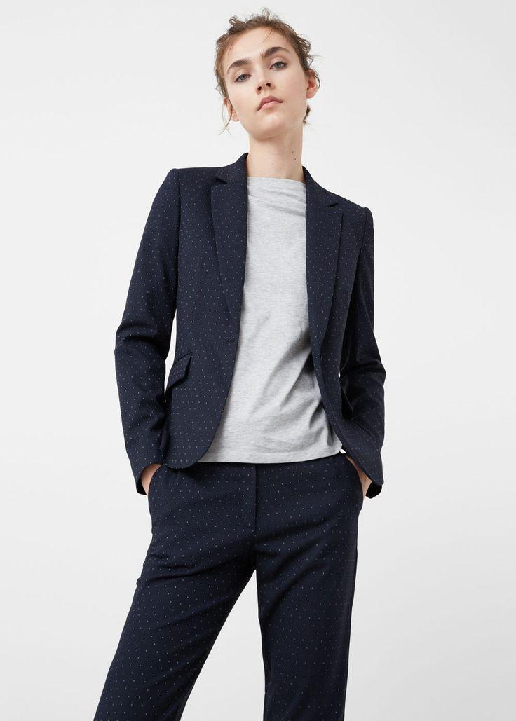 Structured blazer - Jackets for Woman | MANGO USA