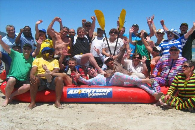 Teambuilding and Corporate Events in Cape Town, South Africa with Adventure Works. @AdvWorks #dirtyboots #teambuilding #capetown