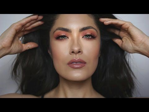 Peach Spring Makeup | Colour Pop Spring '17 | Melissa Alatorre - YouTube
