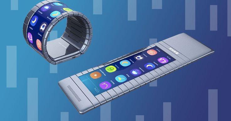 Moxi Group's flexible smartphone/watch