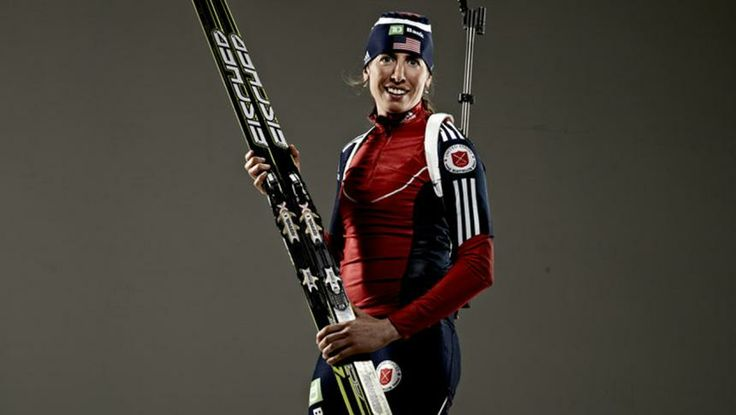 USA Olympic Biathlon Team- Susan Dunklee