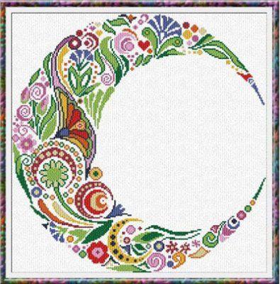Spring Moon (chart) Designer/Artist: Alessandra Adelaide Needleworks