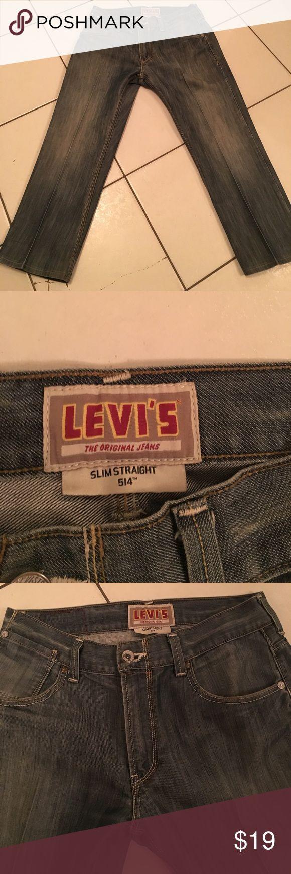 Levi's Jeans 514 Levi jeans 514 great condition waist 34 length 30 Slim men's 👔 Bundle all men's clothing 6 items for $20.00 or 13 items for $40.00 Levis Jeans