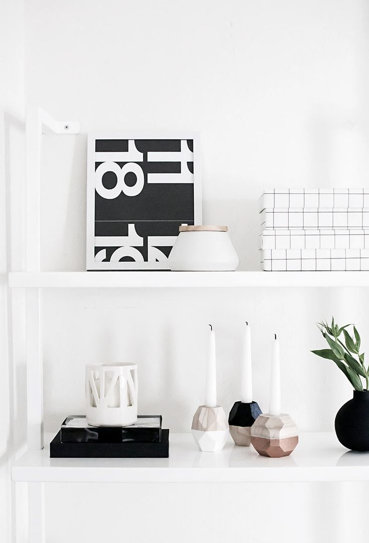 best  geometric candle holder ideas on pinterest  concrete  - diy geometric candle holders from michaelsmakers homey oh my