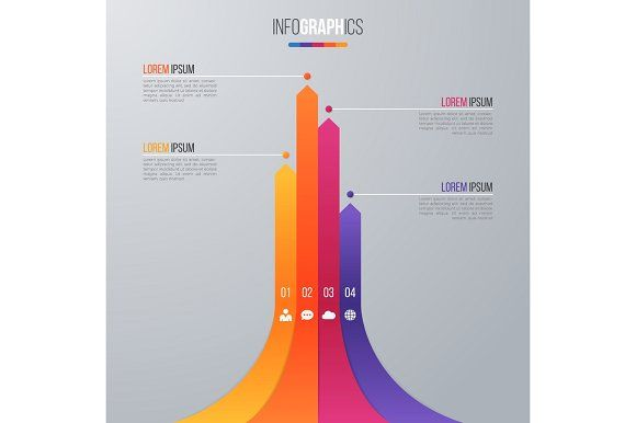 Bar Chart Infographic Template For Data Visualization With  Opt